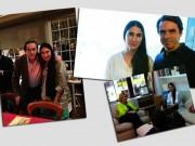 Los amigos de Yoani Sánchez: José María Aznar, Esperanza Aguirra y Hermann Tertsch