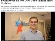 ¿Pediría Antonio Rodiles la extradición a Cuba de Luis Posada Carriles para que sea juzgado por sus crímenes? ¿Rechazaría públicamente los actos terroristas de Jorge Mas Canosa y de la Fundación Nacional Cubano Americana? Foto: Capítulo cubano