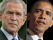 Muchos se preguntan si Obama está llevando a cabo el cuarto período presidencial de Bush. Foto: IAR Noticias