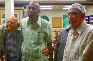 Fariñas (cent.) con Hubert Matos y Posada Carriles