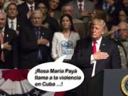 rosa maria trump llama a la violencia